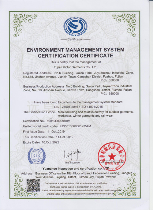 2020-ISO45001 certification